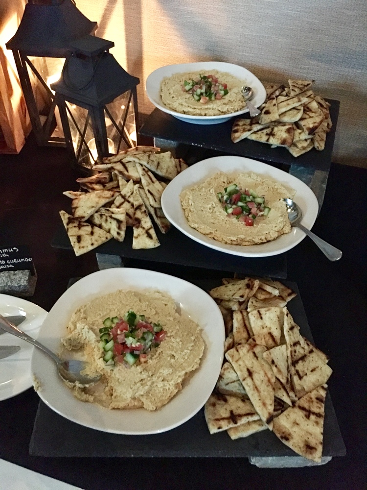 pita bread and dip