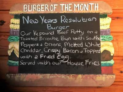 January Burger of the Month