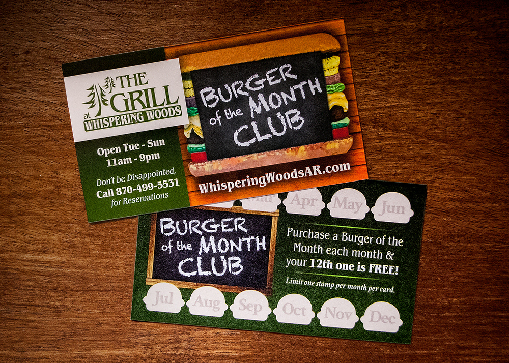 Burger of the Month club