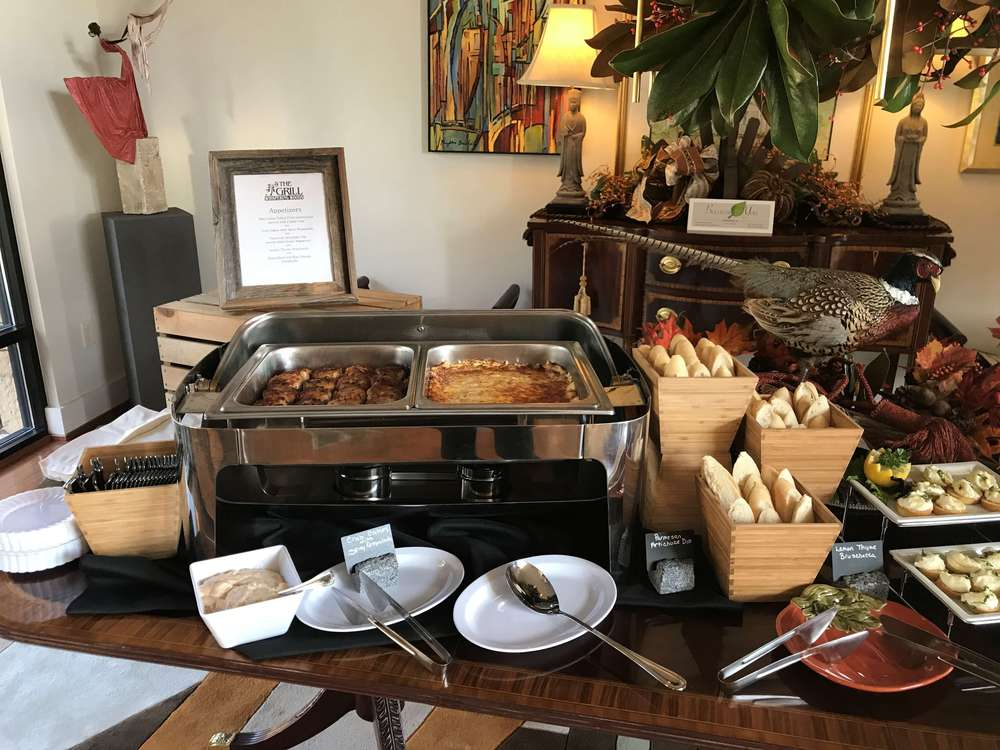 hot buffet for catering