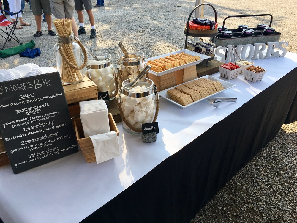 s'mores catering bar 2
