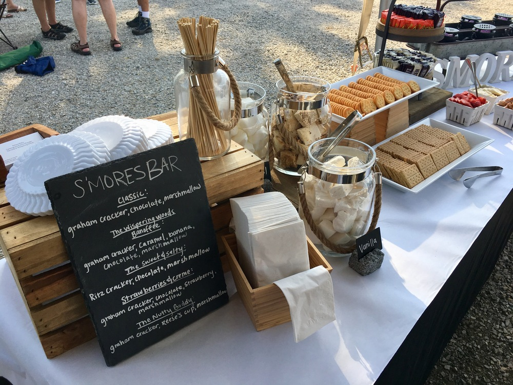 s'mores catering bar 1